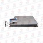 Plataforma PT-100x100 Acero inox. 1.000 Kg x 200 gr